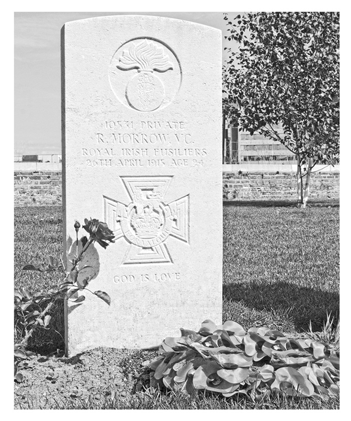 Private Robert Morrow V.C's grave